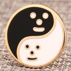 Tai Chi Custom Enamel Pins