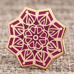 Mandala Custom Enamel Pins