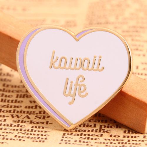 Kawaii Life Enamel Pin