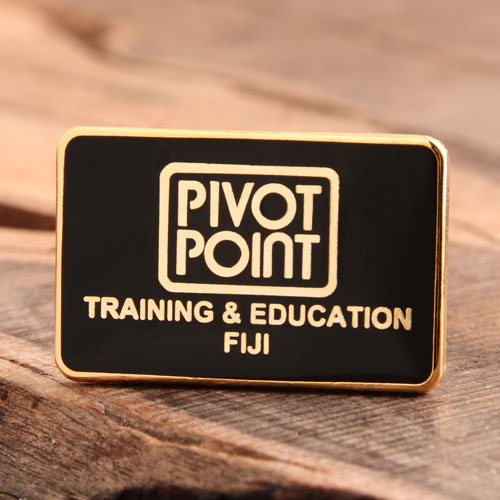 Custom Pivot Point Enamel Pins
