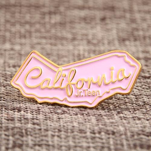 Custom California Jr. Teen Pins