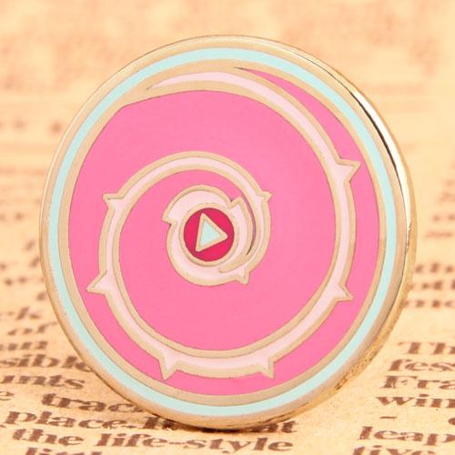 Button Enamel Pins