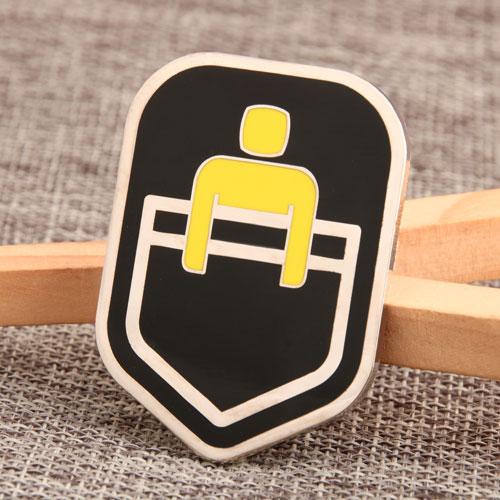 Bed Custom Enamel Pins