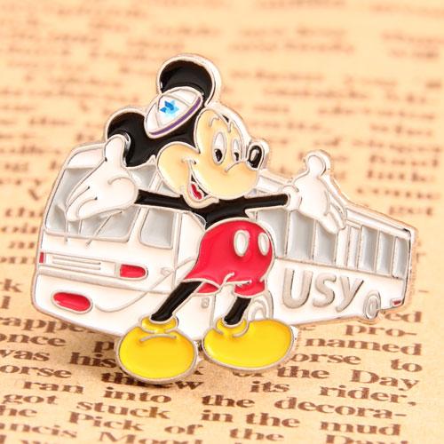 Custom Mickey Bus Pins