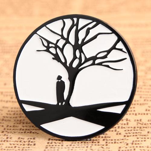 Custom Tree Enamel Pins