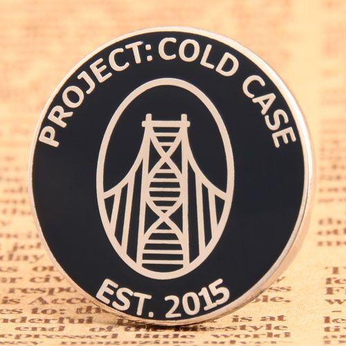 Clod Case Enamel Pin