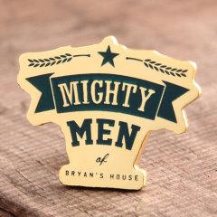 Custom Mighty Men Enamel Pins