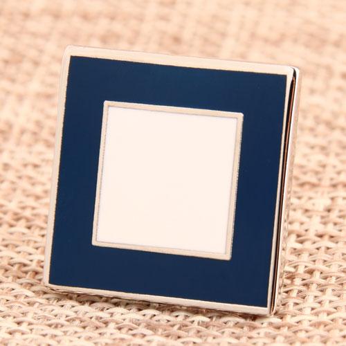 Frame Enamel Pin