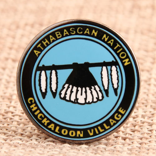 Custom Chickaloon Enamel Pins