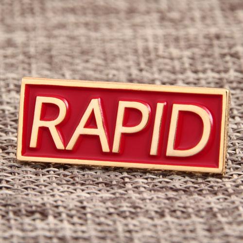 Custom Rapid Enamel Pins