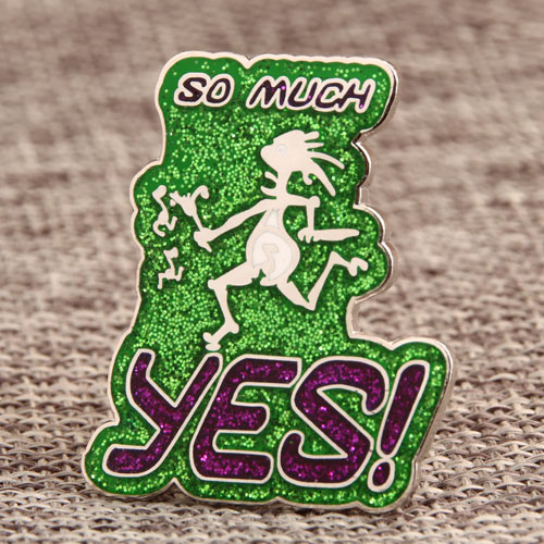 Yes Personalized Enamel Pins