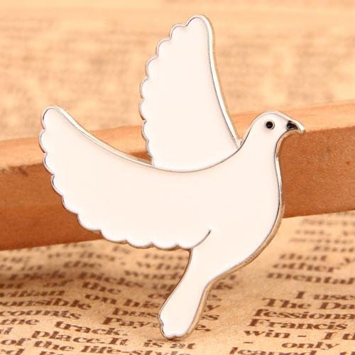Custom Pigeon Hat Pins