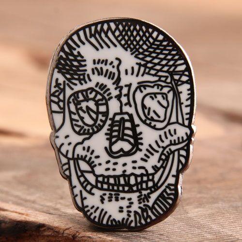 Custom Cute Skull Pins