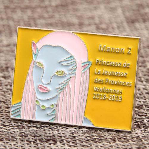 Custom Avartar Manon Lapel Pins