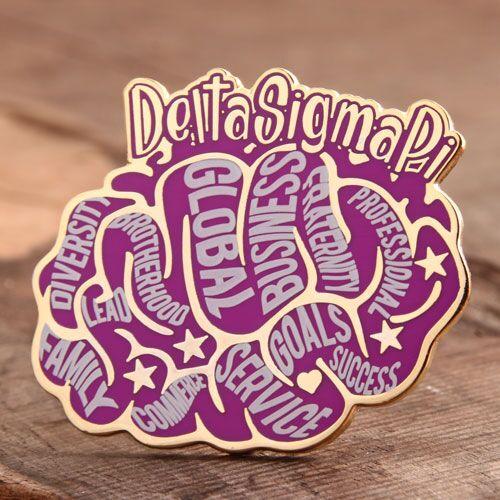 Brain Custom Enamel Pins
