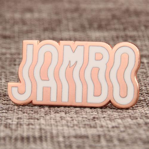 Custom Wiggly JAMBO Pins
