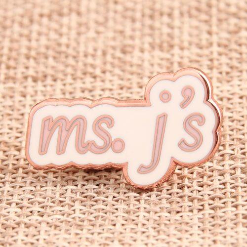 Custom Ms. j's Enamel Pins