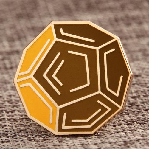 Turtle Shell Ball Custom Pins