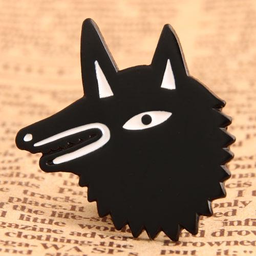 Wolf Custom Pins