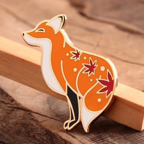 Fox Custom Lapel Pins