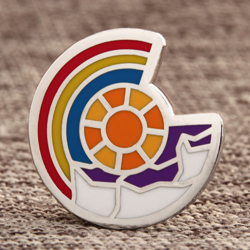 Abstract Shield Custom Pins