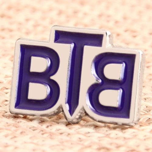 Custom BTB Soft Enamel Pins