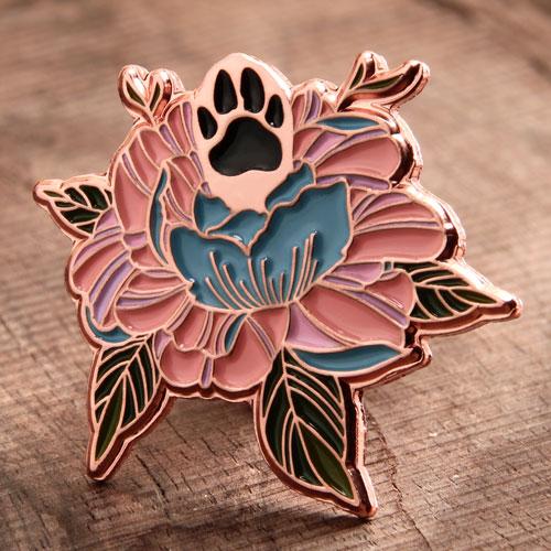 Custom Special Flowers Pins