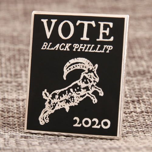 Custom Black Phillip Pins