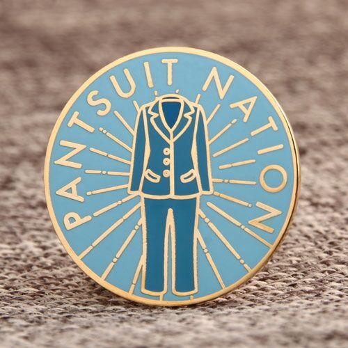 Custom Pantsuit Nation Pins