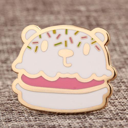 Custom Bear Cake Pins
