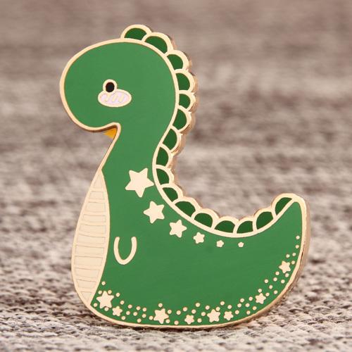 Custom Dinosaur Lapel Pins