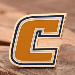 Custom Letter C Pins