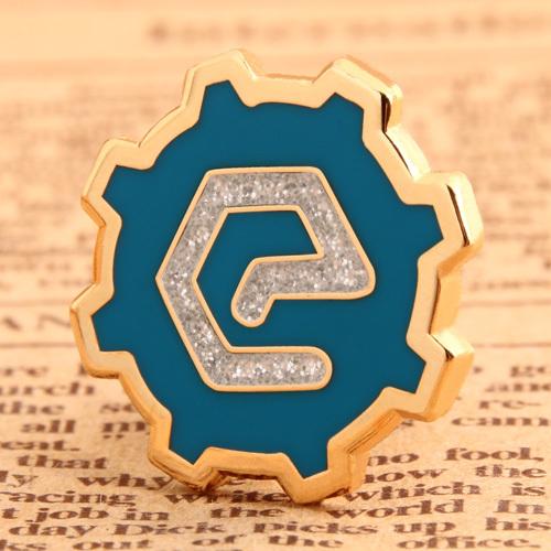 Custom Glisten E Pins