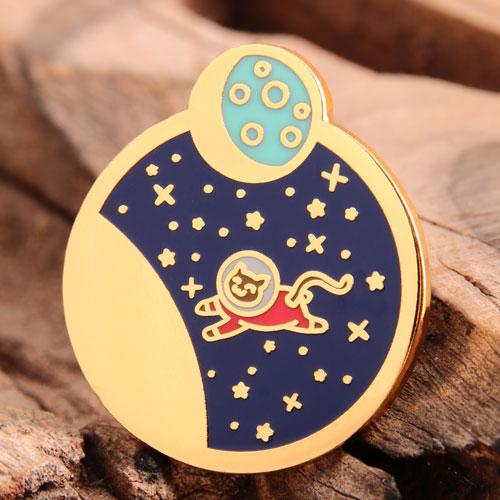 Custom Cat Astronaut Pins