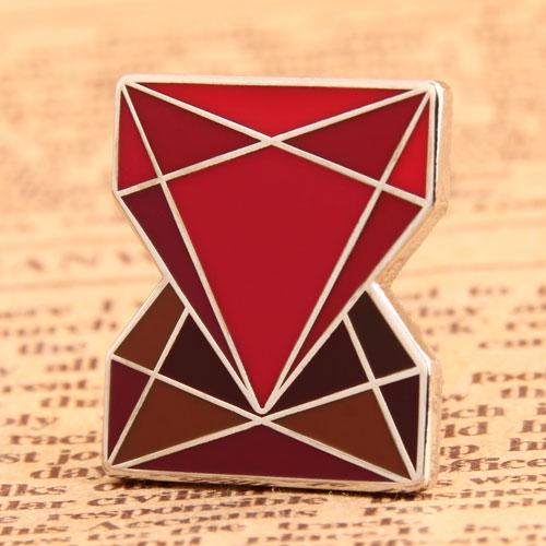 Custom Diamonds Enamel Pins