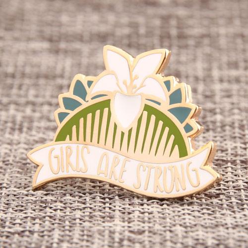 Custom Pretty Comb Pins
