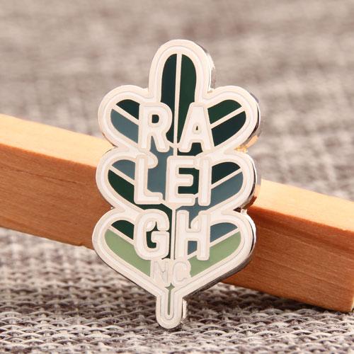 Custom Oak Lapel Pins