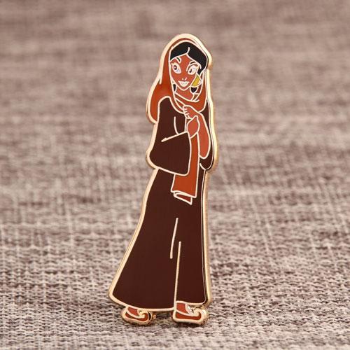 Custom Cartoon Girl Pins