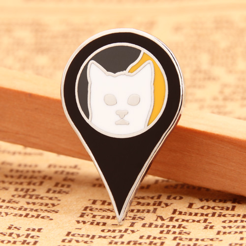 Custom Cat Lapel Pins