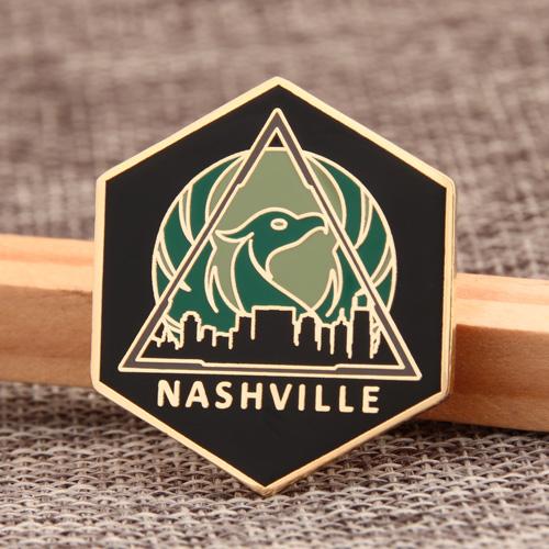 Nashville Custom Enamel Pins