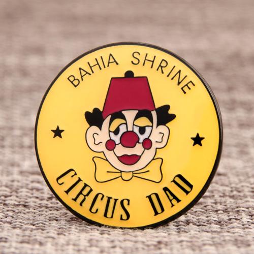Custom Bahia Shrine Circus Pins