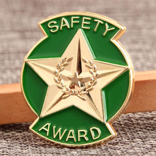 Custom Safety Award Pins