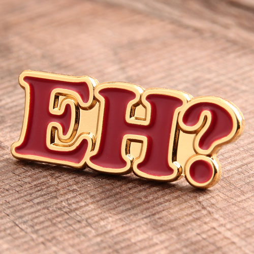 EH Exclamation Custom Pins