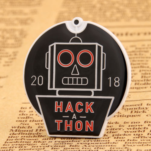 Custom Hackathon Enamel Pins