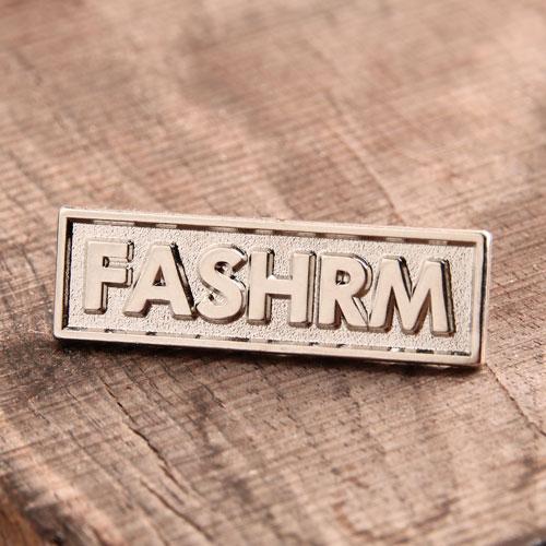 FASHRM Personalize Pins