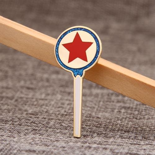Magic Wand Award Enamel Pins
