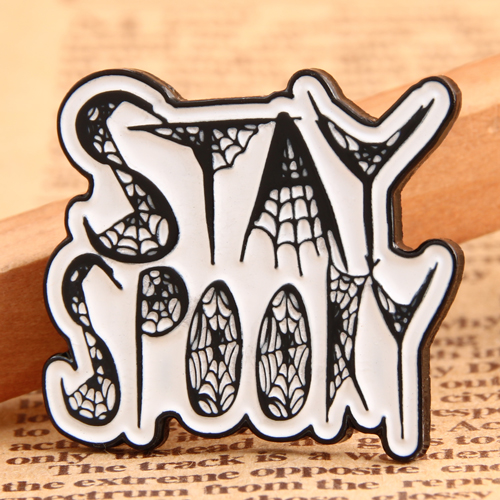 Stay Spooky Personalized Pins