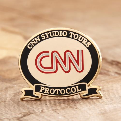 Custom CNN Lapel Pins