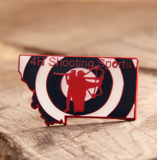 Custom Shooting Sports Pins