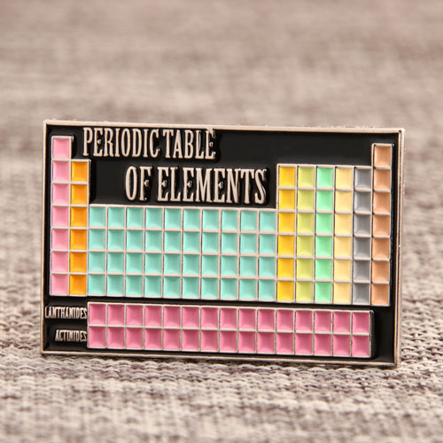 Periodic Table Pins